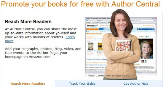 Track Your Nationwide Sales with Amazon's Author Central
