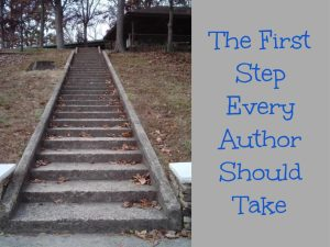 The First Step Every Author Should Take